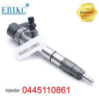 ERIKC Diesel Engine Parts Injector 0445 110 861 Diesel Fuel Injector 0 445 110 861 Car Spare Parts 0445110861