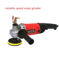 1400W Electric Stone Hand Wet Polisher Grinder Variable Speed Water Mill Portable Water Filled Grinding Machine