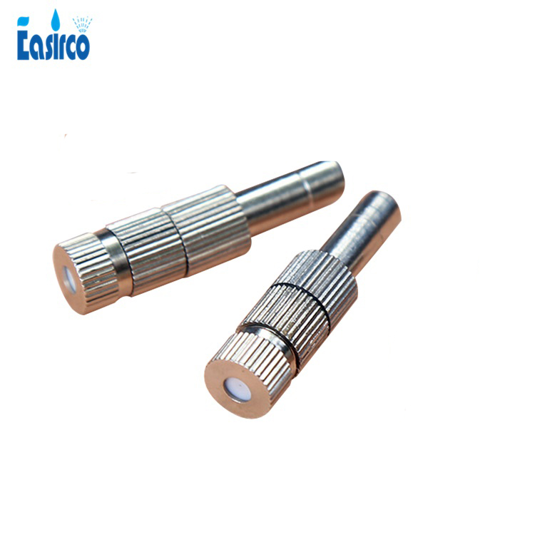 (5~20bar) 6mm&8mm Low Pressure Slip Lock Mist Nozzle with filter  Free Shipping