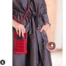 XMESSUN % 2020 orijinal deri telefon kartı tutucu timsah desen inek deri Lanyardr kılıfı telefonu çanta iPhone XS için Max XR