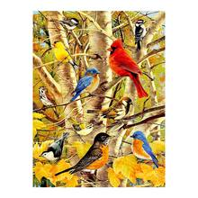 Sparrow bird Diamond Painting animal Woods Round Full Drill 5D Nouveaute DIY Mosaic Embroidery Cross Stitch home decor gifts