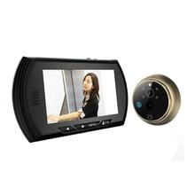 """4,3 """"Intelligente Digitale Türspion Kamera Türklingel Video Recorder Peepholeprojektoren Nachtsicht PIR Motion Kein Stören Tür Augen"""