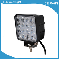 1 Piece Free Shipping SUV 4x4 Offroad 48W Led Work Light For Truck 12V 24V 4x4