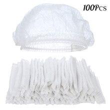 100 pz Usa E Getta Non Tessuto Carta Caps Cappello da Cuoco per la Cucina  del Ristorante Hotel Casa cc7feb8e6866