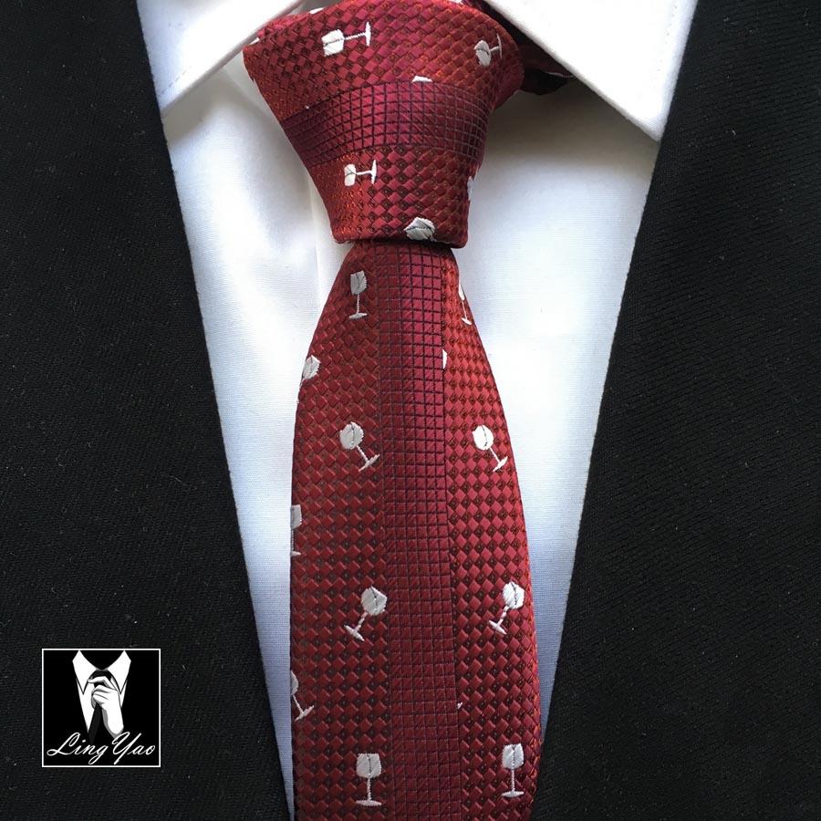 Divat férfi személyiség vékony nyakkendő vőlegény esküvői - Ruházati kiegészítők