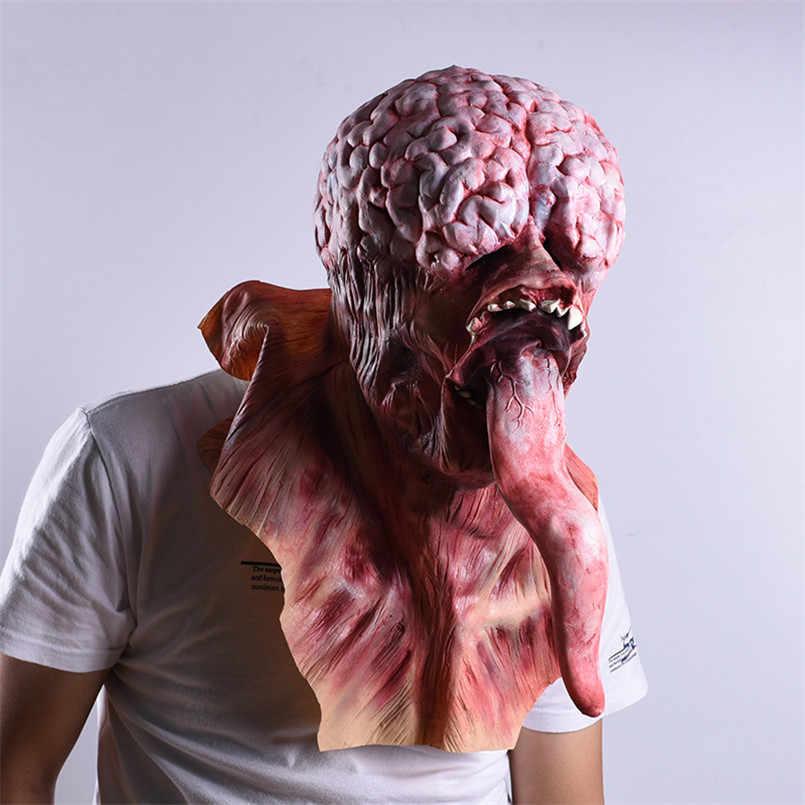 Zombie Masker Halloween Dekorasi Horor Masker untuk Pesta Cosplay Realistis Masker Dekorasiacion De Halloween Maskara De Lateks Realista