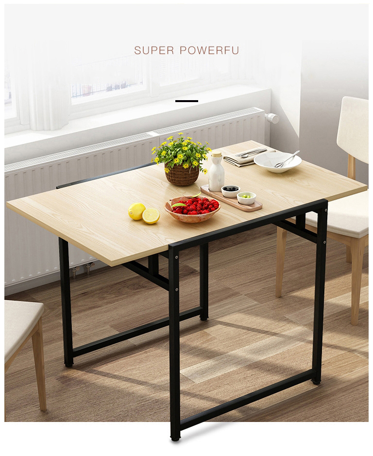 Simple Folding Table Small Apartment