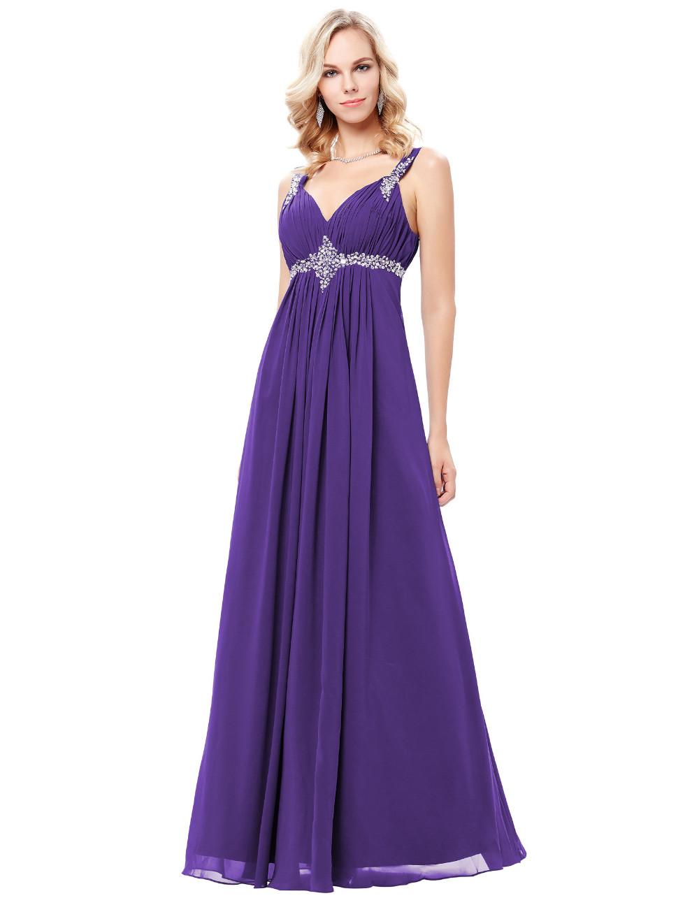 HTB100T4OFXXXXXmaXXXq6xXFXXXzLong Formal Dress Elegant Floor Length Chiffon Dress
