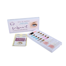 Free shipping One set Eyelash perm lotion Eyelash Perm Super Eyelash Curling Perm Kit Eyelash Wave Lotion Last up to 3 Months