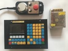 2 assige CNC controller voor draaibank en slijpen machine met voeding en handwiel CNC Control USB stepper servo motor Draaibank