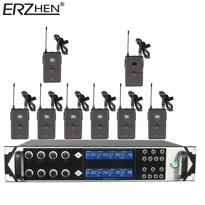 9000GTA bežični mikrofonski sustav UHF 8-kanalni dinamički - Prijenosni audio i video - Foto 5