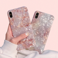 For iPhone 7 Coloful Dream Shell Pattern Phone Case For iPhone Xr XS XS Max 6 6s 7 8 Plus Translucent Soft Silicone Cover Cases