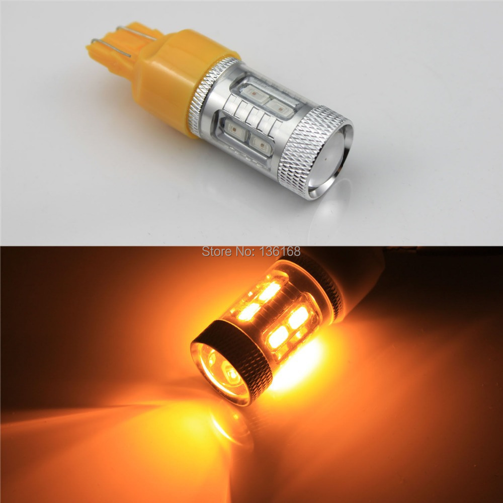 7443 T20 For Opel Astra J+09 P21W/5W ambar Drl Gluhbirnen 6000K 12 5630 Smd Canbus ambre/Ambra