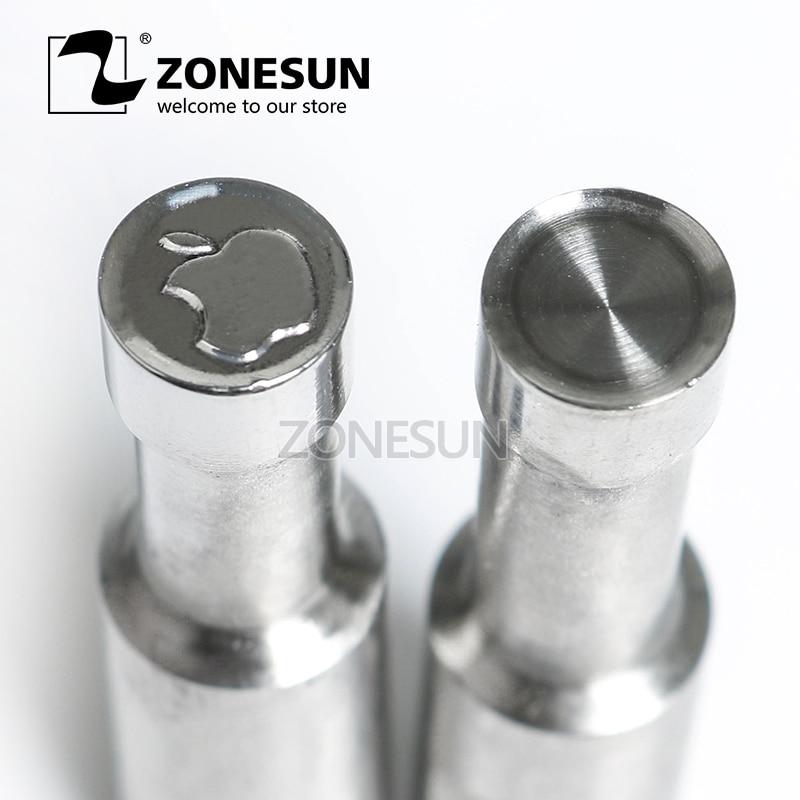 ZONESUN cross sugar Tablet Press 3D Mold Milk Punching Die Custom Logo For punch die TDP 0  15  3 Machine Free Shipping
