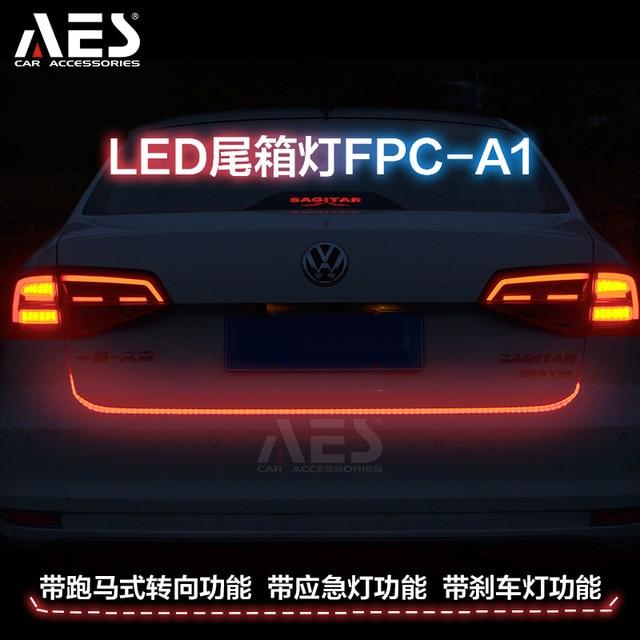 AES 1Set 120CM LED Car Styling Dynamic Streamer Turn Signal Tail ...