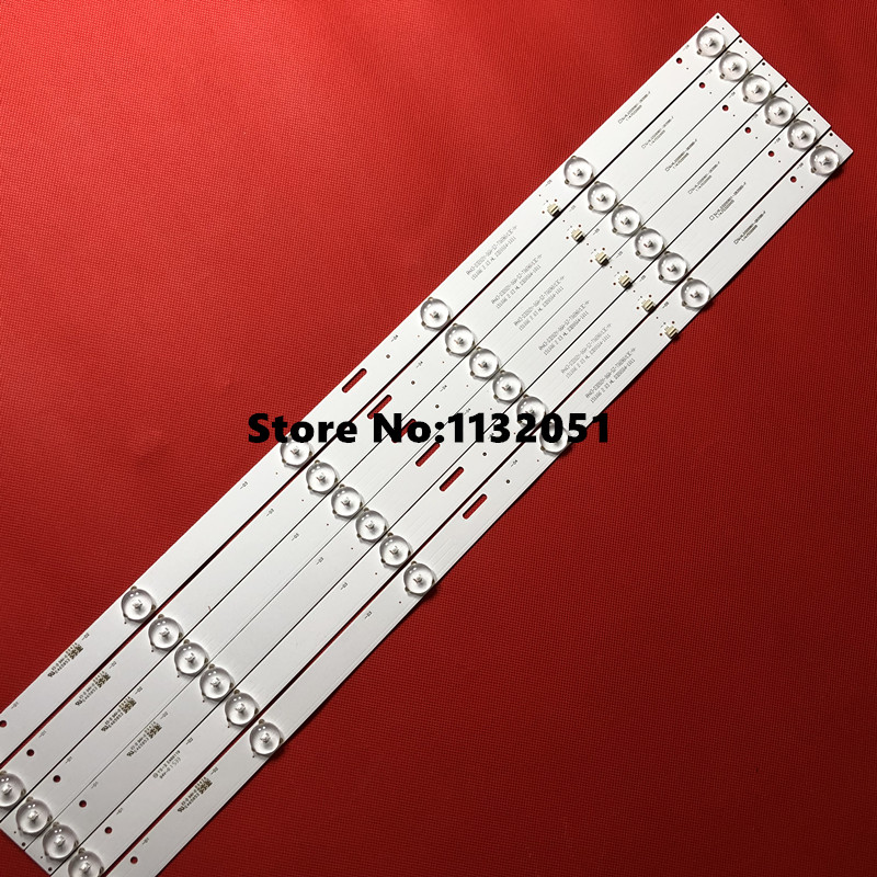 1set=6 Pieces New  For 32inch Strip LE-8822A SJ.HL.D3200601-2835BS-F 6v 6lamp