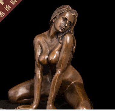 Desnuda Escultura Femenino Desnudo Estatua Arte дель нуэво де бронс