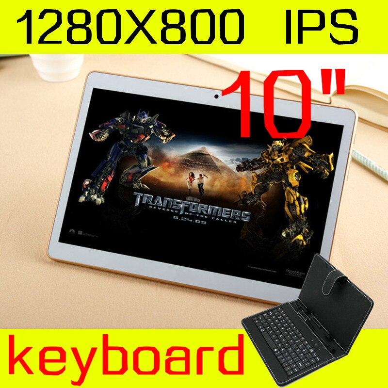 10 inch font b tablet b font keyboard IPS octa core ram 4GB ROM 64GB 5