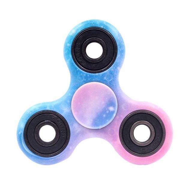 Fingertip gyroscope Tri-Spinner Fidget Toy Plastic