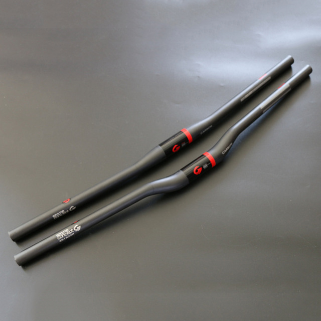 ASIACOM Ultralight Full Carbon Fiber MTB Flat / Ascent Handlebar 31.8mm UD Matte