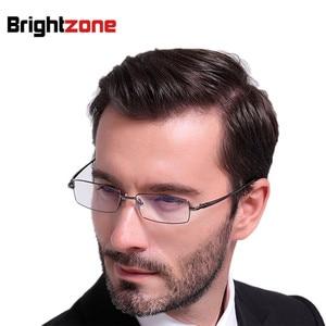 Image 5 - Free Shipping 100% Pure Titanium Full Rim Brand Eyeglasses Men Optical Spectacle Frame Eye Prescription Glasses Oculos De Grau