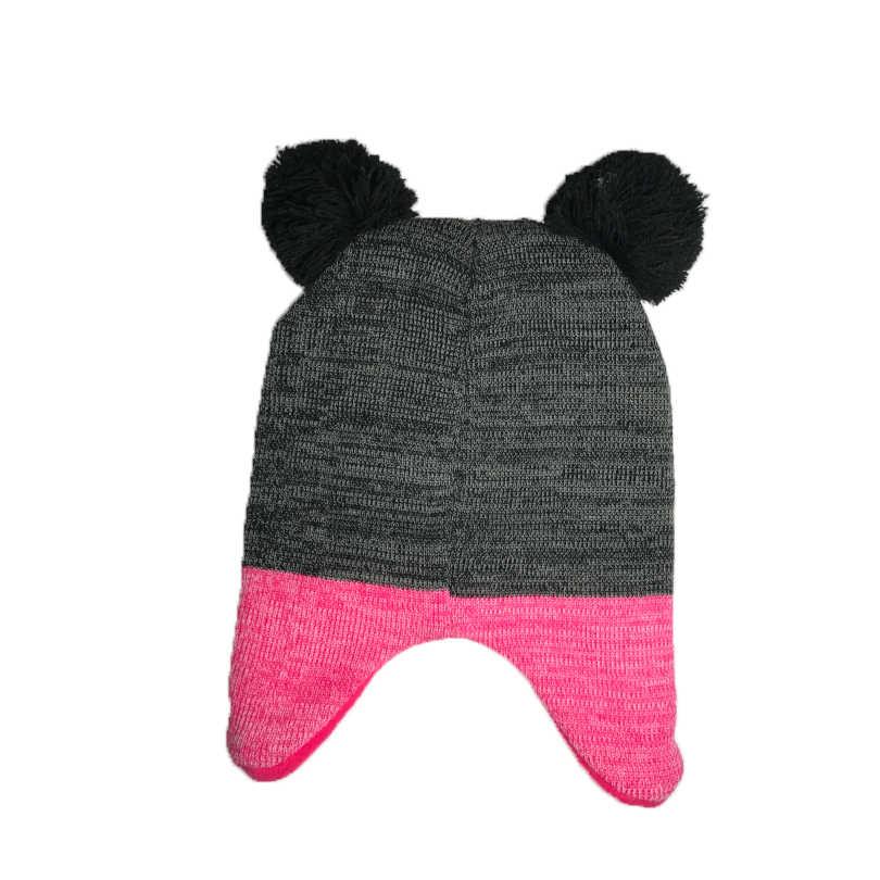 041ec131927ed ... Disney Minnie Children s Cartoon Hats Girls Cute Beautiful Hats Girls  Hats Children s Cap Baby Pom Pom ...