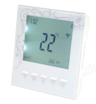 42 time bucket programmable wireless RF thermostat boiler 433mhz transmitter receiver