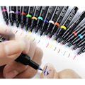 Colorful Dual Nail polish pen Multi-Function Assorted Colors Beauty Painting Pen Manicure Tools DIY Nail Art Dotting Decorations