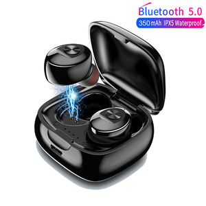 Image 1 - XG12 TWS Mini Bluetooth 5.0 Earphone Stereo Bass Earbuds Portable Wireless Earphones With charging box for Huawei iPhone Samsung