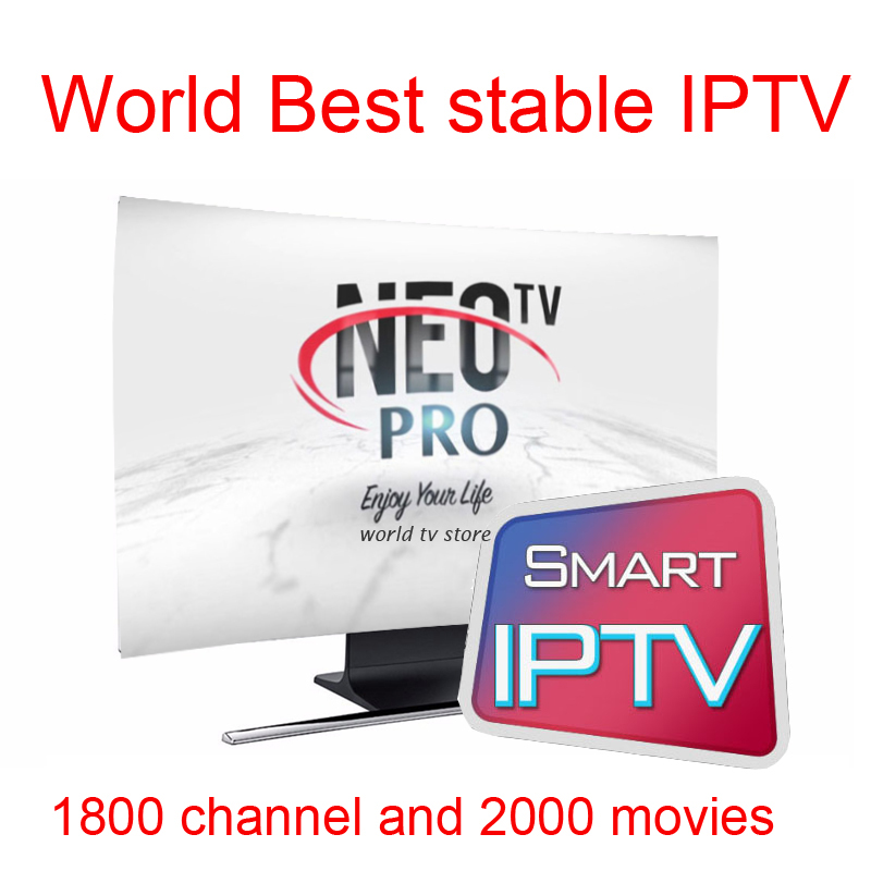 цена на Android tv box X96mini Neotv Pro Iptv Subscription Europe algerie morocco tunisia M3u Mag250 roku 3 french arabic iptv