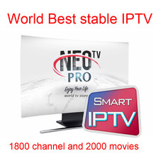 Android tv box X96mini Neotv pro Iptv Subscription Europe algerie morocco tunisia Mag250 roku 3 french arabic iptv(China)