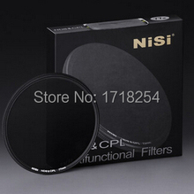 Original NiSi 82mm Combination ND8 & CPL 82 mm Ultra Thin Lens ND Filter Circular Polarizer CPL+ND8 Two-in-One