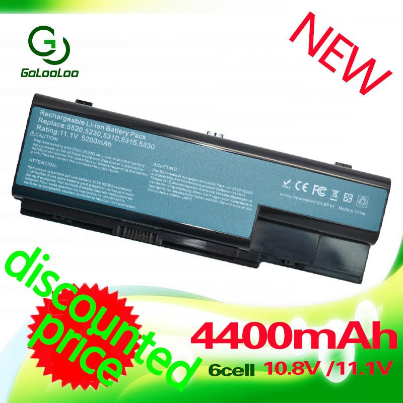 все цены на Golooloo Laptop battery For Acer Aspire AS07B31 AS07B41 5920 5920G 5315 5520G 6935 6930 7330 7520 7530 AS07B42 AS07B51 AS07B72 онлайн