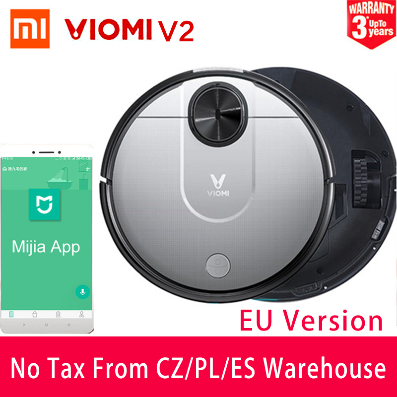 New Xiaomi VIOMI Pro Smart Vacuum Cleaner Intelligent Household Cleaner Automatic Sweeping and Mopping WiFi Connect
