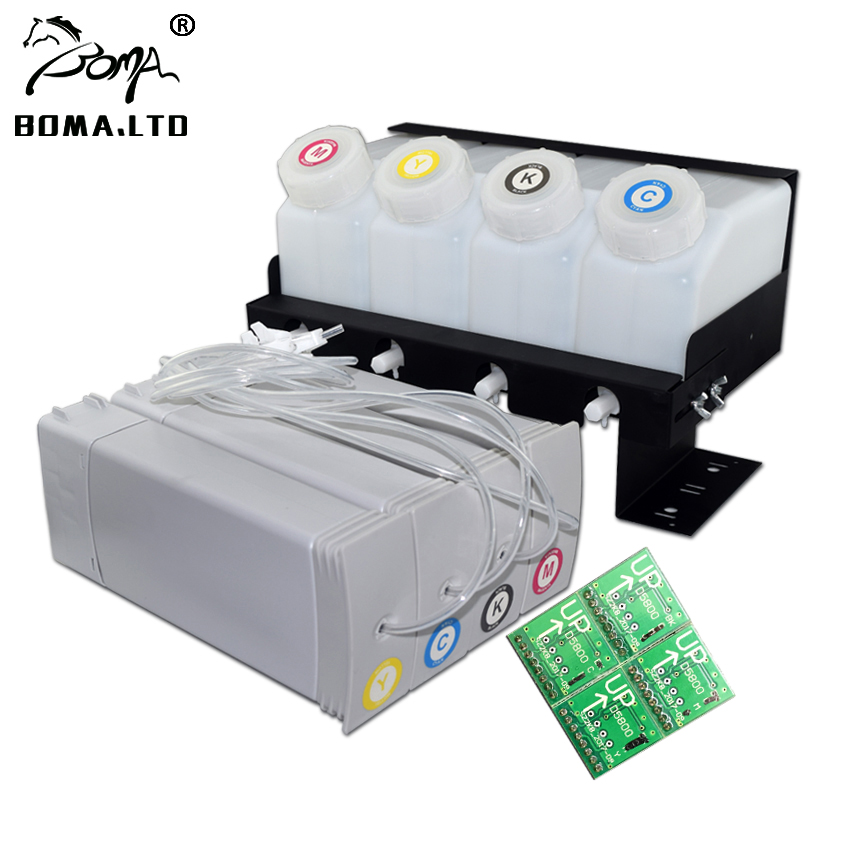 BOMALTD High Quality D5800 Ciss System Bulk Continuous Ink Supply System For HP D5800 Printer Plotter
