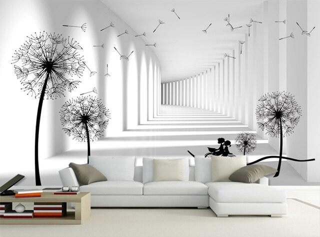 Gris Blanc Brique Glitter Papier Peint Murs Pour 3d Salon Peintures