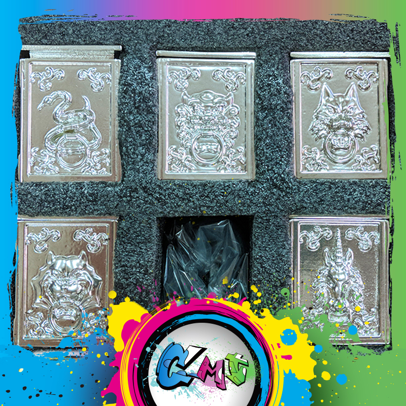 CMT Jacksdo 5 bronze Saint Seiya Myth Cloth Pandora Box Hydrus Ursa Minori LeoMinor unicorno