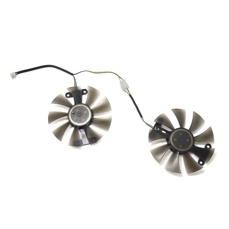 2 шт./компл. GA91S2H GeForce GTX 960 1050 1060 GPU кулер вентилятор охлаждения для ZOTAC GTX1050Ti X-игровой GTX760 2GD5 HB карты