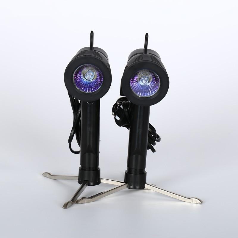 CY 220V 50W Portable Photo Studio Light Desktop Photography Shooting halogen point Lamp Daylight Bulb + Tripod Stand for Softbox