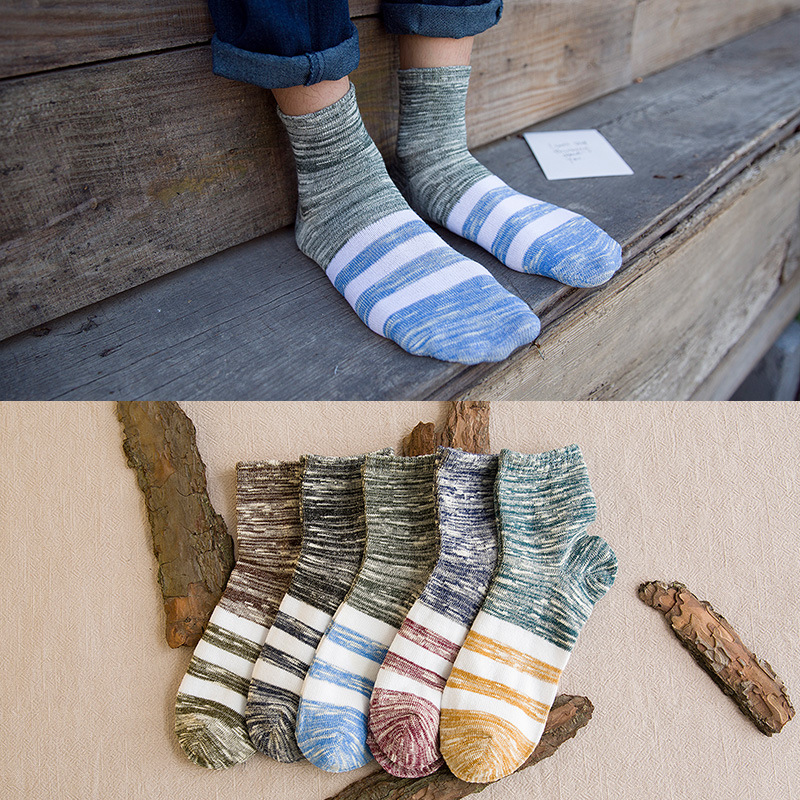Mens Socks Hot-sell Socks Invisible Man Cotton Socks Slippers Shallow Mouth Sock 5 Pairs/lot Men's Socks