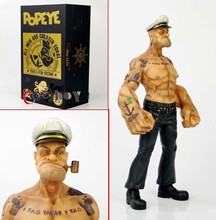 New Arrivel 1/6 Scale Popeye Model Toys Cartoon Anime 12″  Figure Toys For Children Gifts Collections