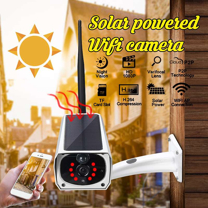 Solar Camera Security Camera Wireless Remote Monitoring Solar Video Wifi Alarm System Infrared Imager Android Gsm CCTV CameraSolar Camera Security Camera Wireless Remote Monitoring Solar Video Wifi Alarm System Infrared Imager Android Gsm CCTV Camera
