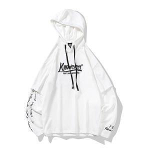 Image 2 - 2019 summer style hip hop men sweatshirts streetwear hoodies long sleeve pullover outwear ABZ364