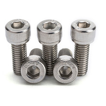 Socket Head Screw Assortment Inch Sizes, 1300 Pieces, 18-8 Stainless Steel,4-40 to 3/8