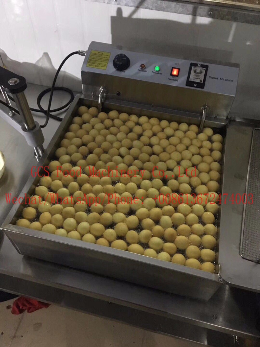Free Shipping cost manual donut fryer machine/Doughnut ball /