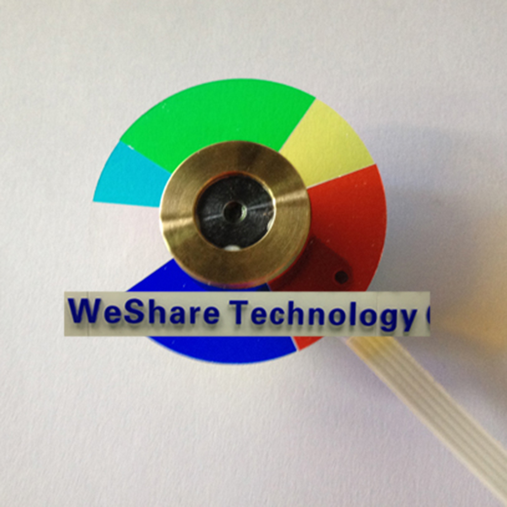 ФОТО New Home Projector Color Wheel For Optoma HD66 HD6700 HD67N Repair Replacement fitting
