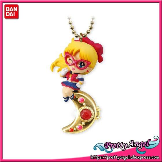 * Original Bandai Shokugan Twinkle Dolly Sailor Moon Part.4 Keychain Action Figure  - Sailor V ( Sailor Venus ) original bandai shokugan sailor moon butterfly ribbon charm key chain sailor moon