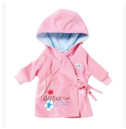 Free Shipping Doll Clothes coat Wear fit 43cm Baby Born zapf Children best Birthday Gift Christmas