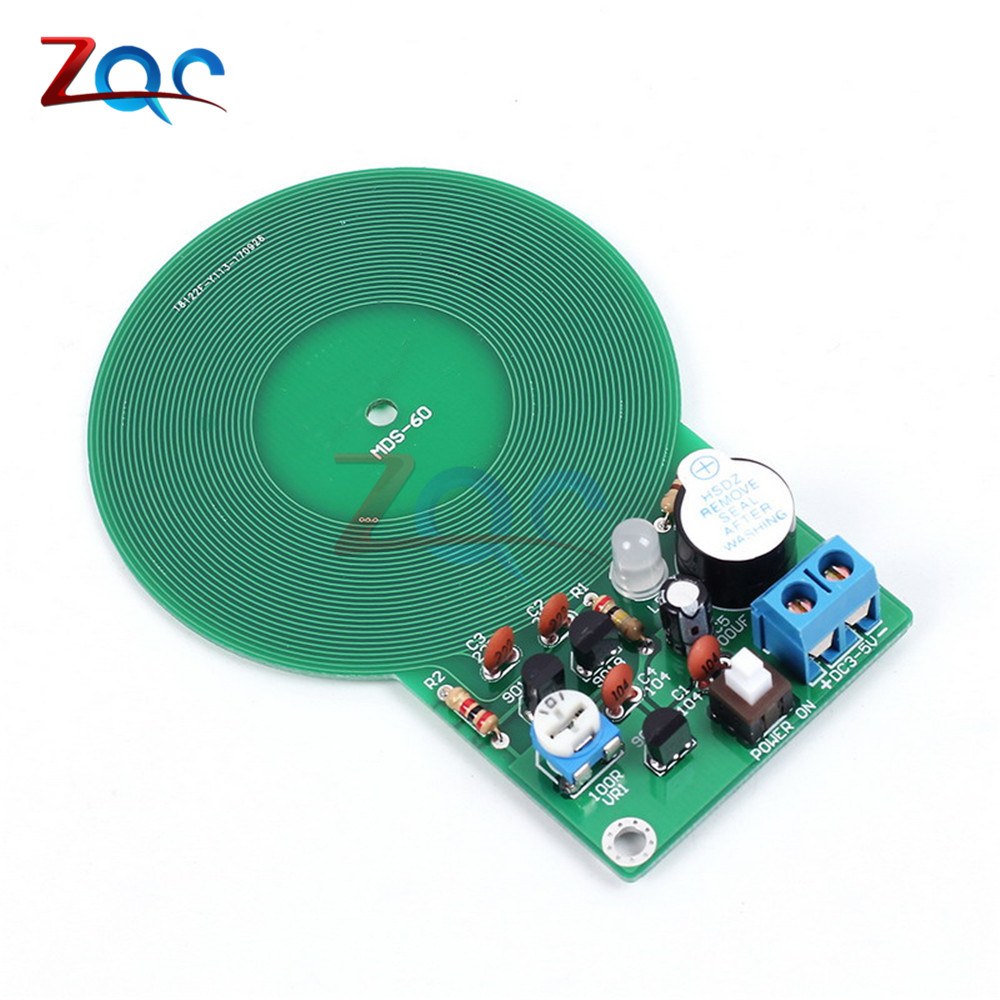 Pics Photos Build Your Own Metal Detector Projects Circuits Diy Kit Electronic Dc 3v 5v 60mm Non Contact Sensor Board Module Part In Instrument Parts Accessories