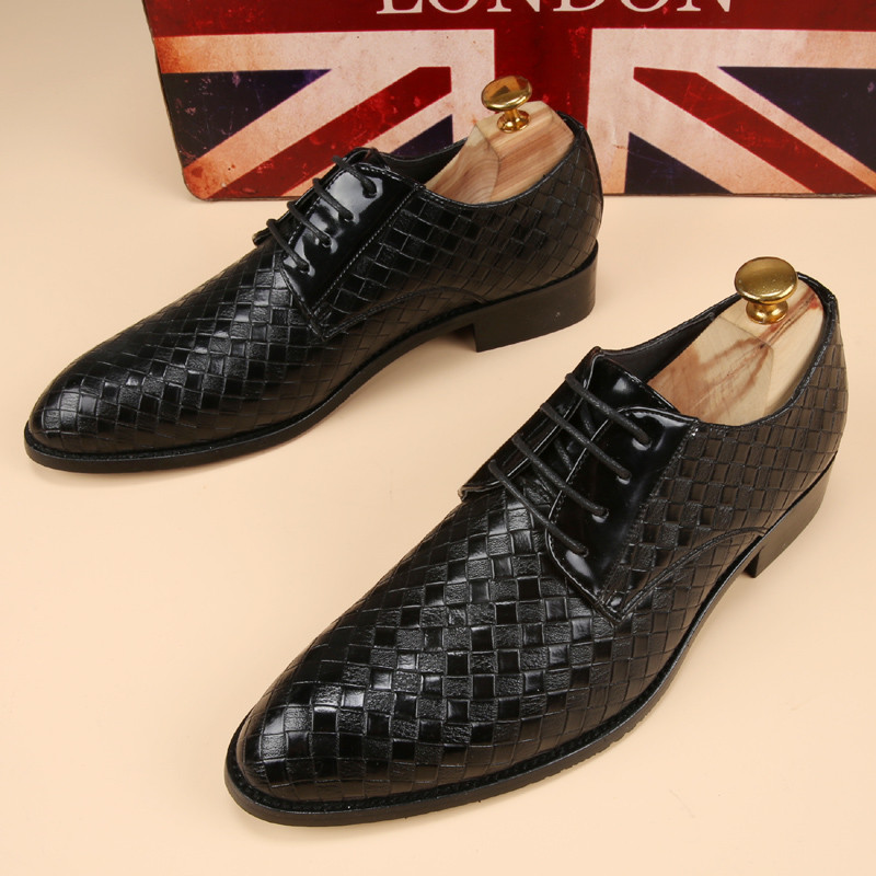 glossy dress bespoke men shoes luxury brand retro italian comfort topsiders footwear unique vintage formal party loafer flats (2)